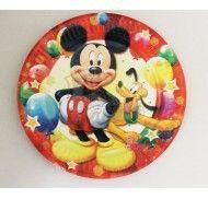 Праздничные тарелки Микки Маус №2 10шт. 18 см