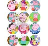 Набор Картинок Свинка Пеппа №2 фото цена