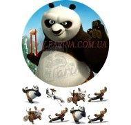 Картинка Панда Кунг-фу №1 фото цена