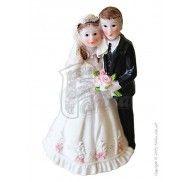 Фигурка жених и невеста 9 см 1200С