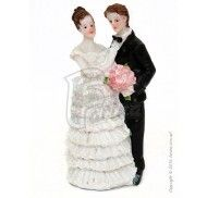 Фигурка жених и невеста 10 см 1201D фото цена