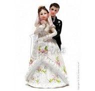 Фигурка жених и невеста 12 см  1202D фото цена