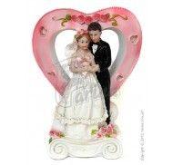 Фигурка жених и невеста 17 см  1207A фото цена