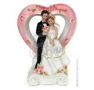 Фигурка жених и невеста 17 см  1207В фото цена