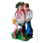Фигурка жених и невеста 14 см 193B фото цена