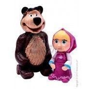 """Набор фигурок """"Девочка и медведь""""  фото цена"""