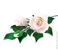 Фигурка  Ветка розы тонированная фото цена