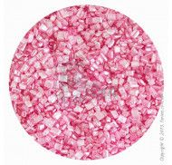 """Посыпка декоративная """"Сахарные кристаллы Розовые"""" 3-4 мм  - 100 г."""