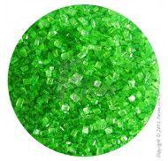 """Посыпка декоративная """"Сахарные кристаллы Зеленые"""" 3-4 мм - 100 г."""