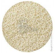 Посыпка Нонпарель белая 1 мм 1 кг.