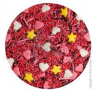Посыпка декоративная Сердечки № 2  1 кг.