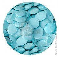 Глазурь кондитерская голубая (с молочным вкусом) 0,2 кг.