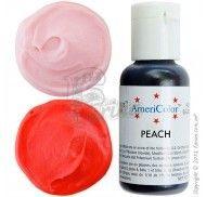 Краситель гелевый Americolor персик (Peach) 21г. фото цена