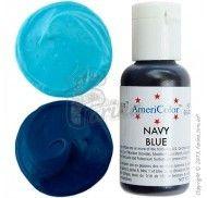 Краситель гелевый Americolor темно-синий (Navy Blue) 21г.