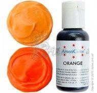 Краситель гелевый Americolor оранжевый (Orange) 21г.