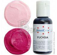 Краситель гелевый Americolor красновато-фиолетовый (Fuchsia) 21г.