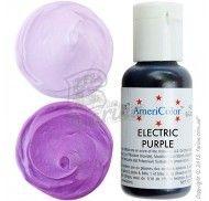 Краситель гелевый Americolor электрик-пурпурный (Electric Purple) 21г.