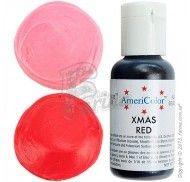 Краситель гелевый Americolor рождественский красный (Christmas Red - Xmas Red) 21г.
