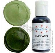 Краситель гелевый Americolor авокадо (Avocado) 21г. фото цена
