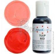 Краситель гелевый Americolor красный тюльпан (Tulip Red) 21г.