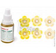 Краситель гелевый Украса желтый-лимон 25г. фото цена