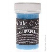 Краситель пастообразный SugarFlair Bluebell синий 25г. фото цена