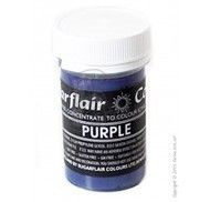 Краситель пастообразный SugarFlair Purple фиолетовый 25г.