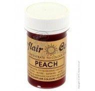 Краситель пастообразный SugarFlair extra Peach персиковый 25г.