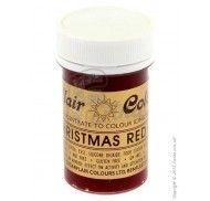 Краситель пастообразный SugarFlair Christmas Red Рождество красный 25г. фото цена