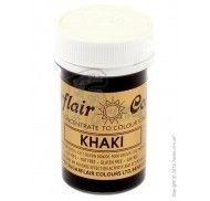 Краситель пастообразный SugarFlair extra Khaki хаки 25г. фото цена