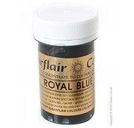 Краситель пастообразный SugarFlair extra Royal Blue королевский синий 25г.
