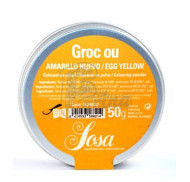 Яично-желтый водорастворимый краситель в порошке SOSA 50 гр фото цена