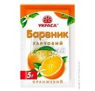 Краситель сухой Украса 5г. Оранжевый фото цена