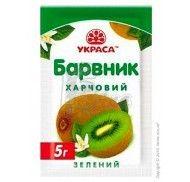 Краситель сухой Украса 5г. Зеленый фото цена