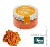 Оранжевый краситель Sosa жирорастворимый в порошке 30г фото цена