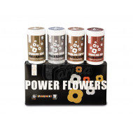 Краситель жирорастворимый Power Flower Discov Box Sparkle набор с кандуринами 4х50g
