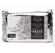 Мастика для моделирования Criamo Какао/ModelingPaste cocoa естественно-белая для покраски 500г фото цена
