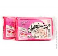 Мастика для обтяжки Magiculata (Маджикулата) универсальная -1кг Розовая