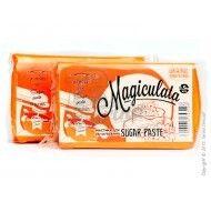 Мастика для обтяжки Magiculata (Маджикулата) универсальная -1кг Оранжевая