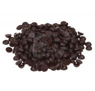 Шоколад кондитерский кувертюр чёрный 54.5% 1кг фото цена