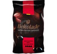 Черный шоколад в дропсах Belcolade Noir Selection 55% 1 кг