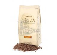 Шоколад молочный кувертюр Lubeca IVORY COAST 35% в виде калет 10 кг