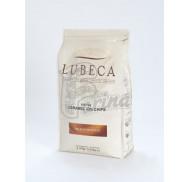 Шоколад молочный кувертюр с карамельным вкусом Lubeca CARAMEL 33% в виде калет 1 кг