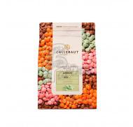 """Шоколад зеленый со вкусом лимона """"Lemon Callebaut Callets"""" 27,5% 2,5 кг"""