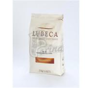 Шоколад молочный кувертюр Lubeca TIMMENDORF 42% в виде калет 200грм фото цена