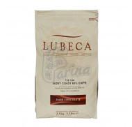 Шоколад темный кувертюр Lubeca Ivory Coast 60% 1 кг фото цена