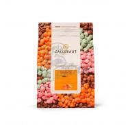 """Шоколад оранжевый со вкусом апельсина """"Orange Callebaut Callets"""" 29% 2,5 кг"""