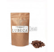 Шоколад молочный кувертюр Lubeca IVORY COAST 35% в виде калет  400гр