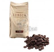 Шоколад темний кувертюр Lubeca PLON 70% в виде калет 200 г