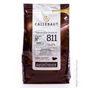 """Шоколад черный """"Callebaut Select"""" 54,5% какао, каллеты, 1 кг фото цена"""